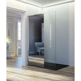 Mampara fija de ducha Fresh Transparente y espejo