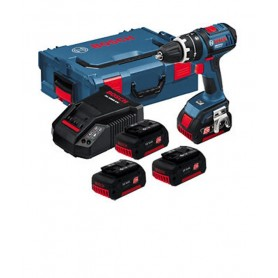 Taladro Bosch Profesional GSB 18-2 LI + 3 Baterias 4,0AH
