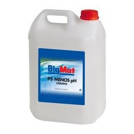 Reductor PH liquido BigMat Bote 6Kg